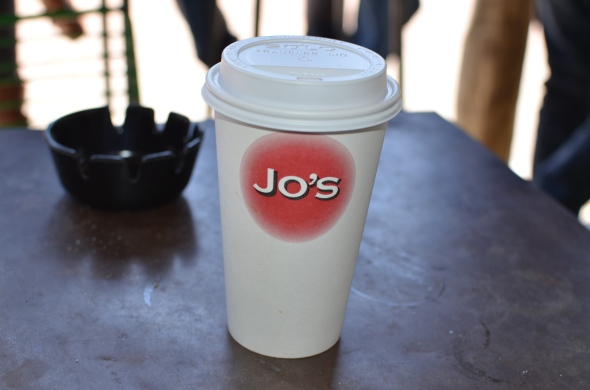 Cup of joe at Jo's [South Congress Ave - Austin, TX]