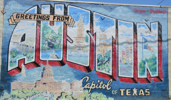 Greetings from AUSTIN - Capitol of Texas